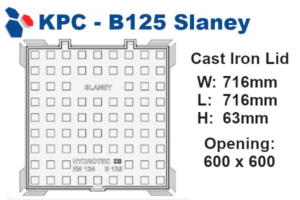 B125 Slaney Junction Box Lid