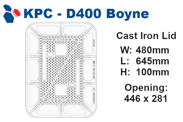 D400 Boyne Junction Box Lid