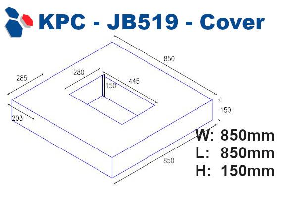 JB519 Junction Box Cover
