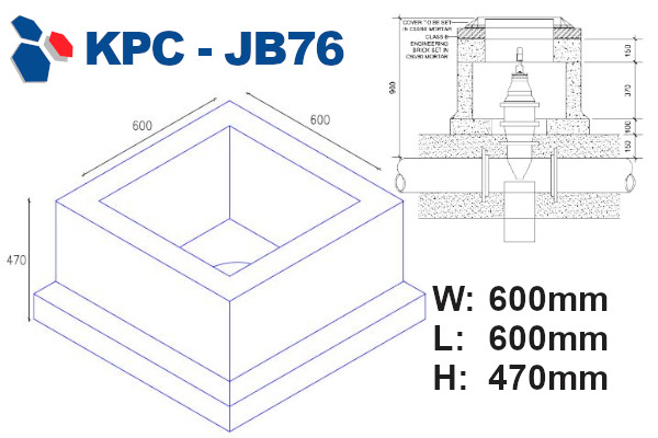 junction box 76 drawing