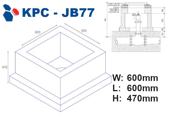 junction box 77 drawing