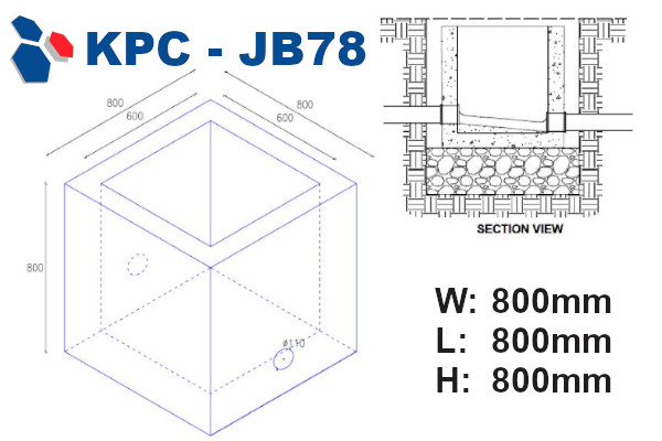 junction box 78 drawing