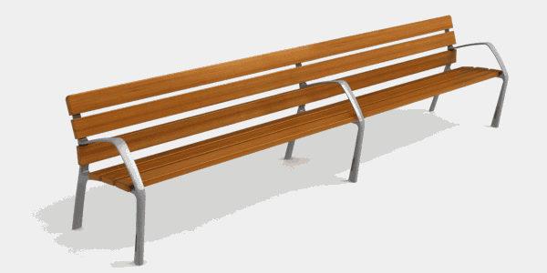 NeoBarcino Long Bench